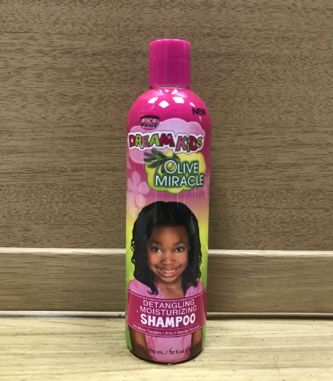 AFRICAN PRIDE DREAM KIDS OLIVE MIRACLE SHAMPOO - 355ml